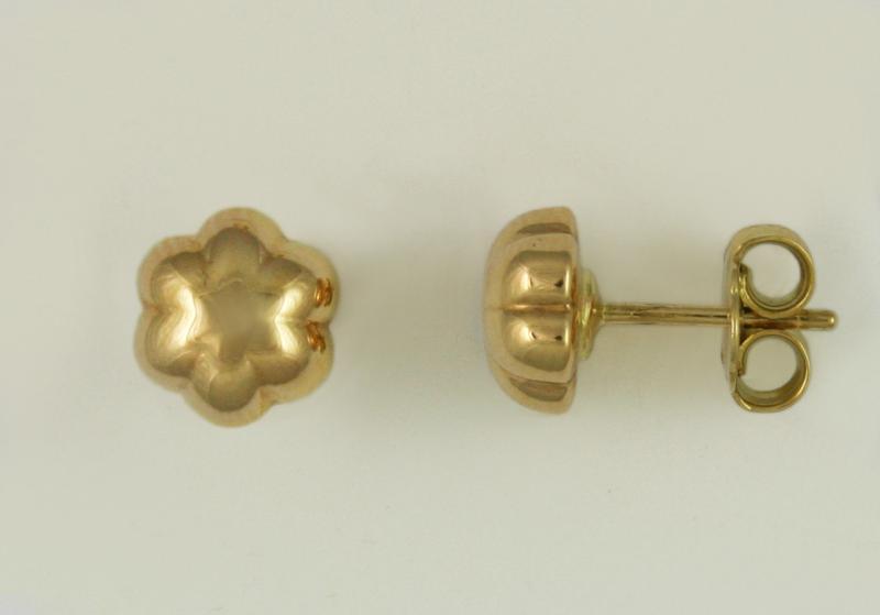 pendientes de oro p